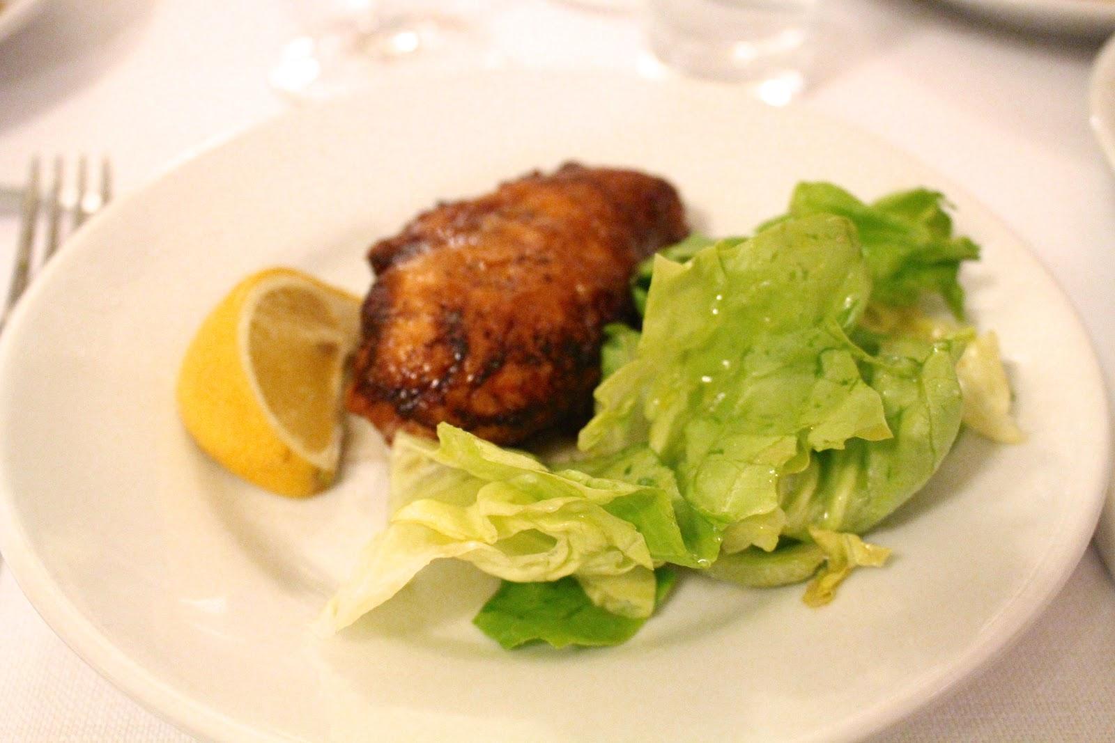 Trattoria Sostanza Firenze pollo al burro chicken