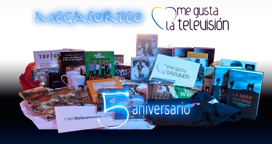 MEGASORTEO 5 AÑOS ELTELEVISERO.COM ¡PARTICIPA!