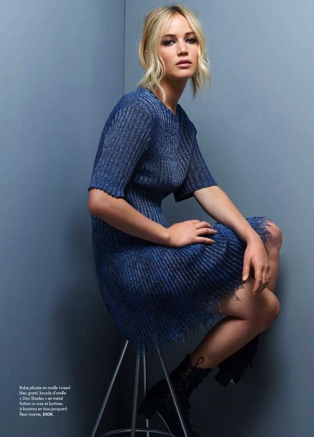Jennifer Lawrence in Elle France - Photo Jennifer Lawrence 2016