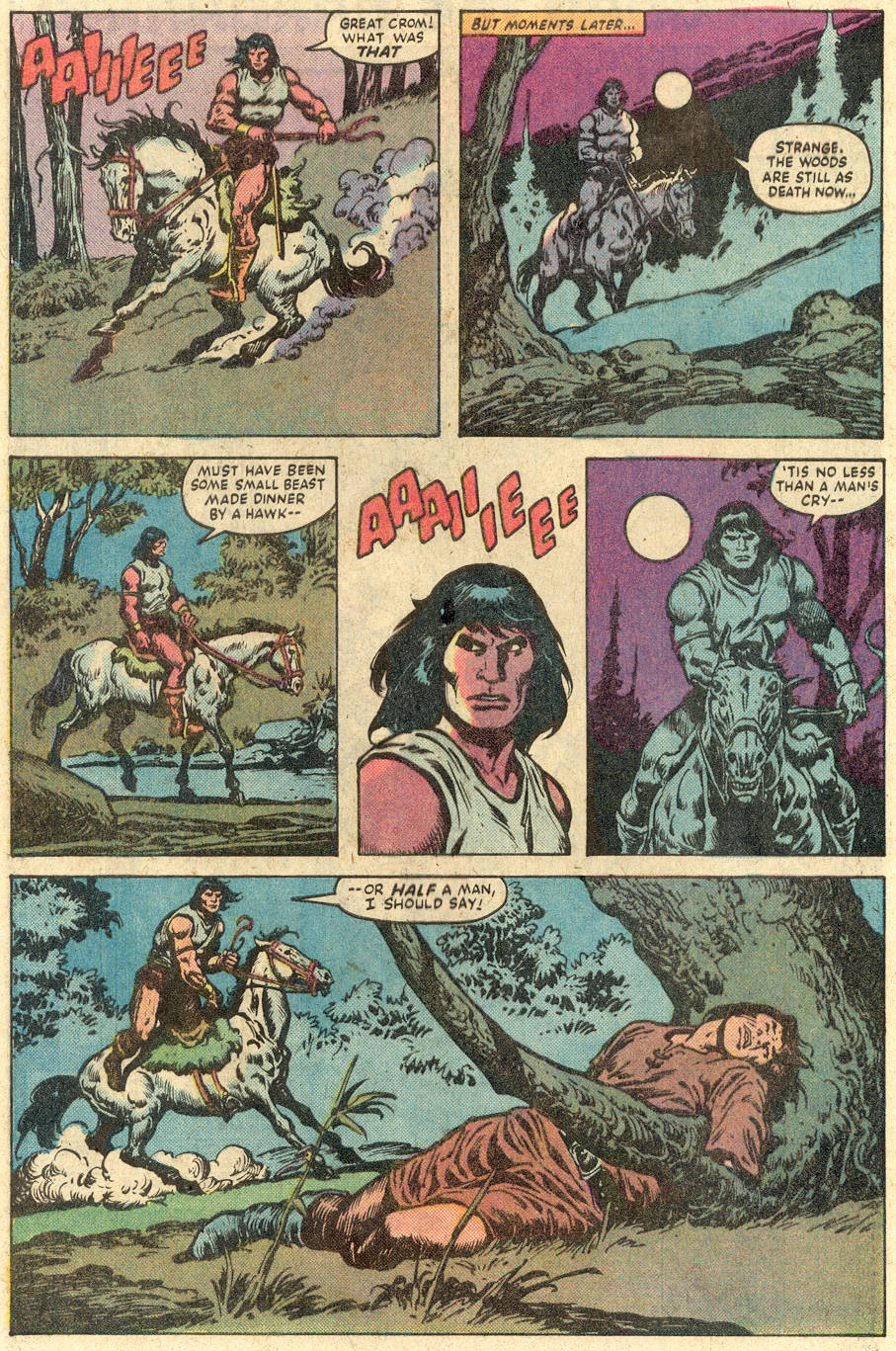 Conan the Barbarian (1970) Issue #149 #161 - English 3