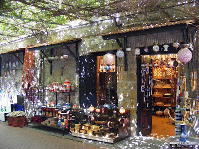 Gift Shop in Fethiye Old Town