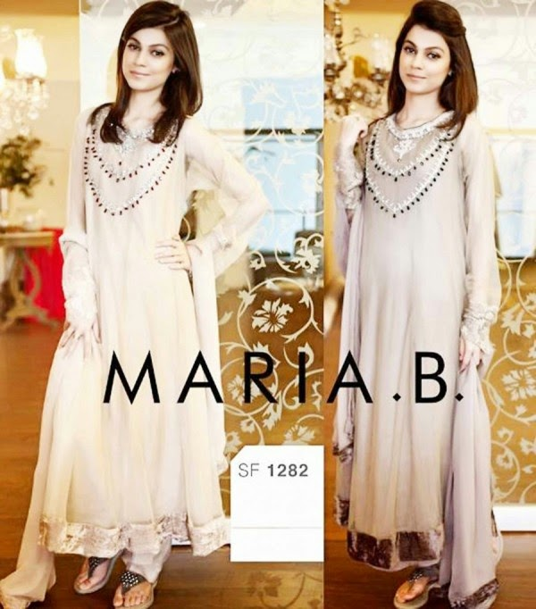 Maria.B Party Wear Dress Collection 2014
