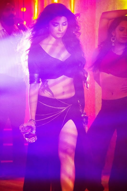 Prachi Desai drinking wine from her song awari hot seducing looks of prachi desai unseen rare hot pics from song 'awari' of 'ek villian' hot thunder thighs exposed in her black see through skirt