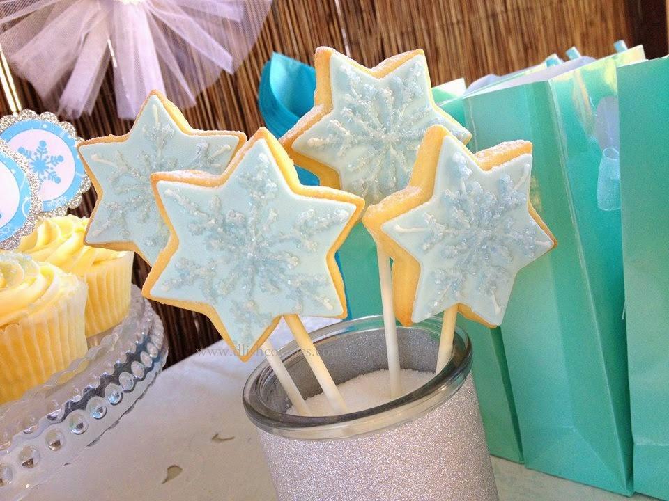 frozen party cookies
