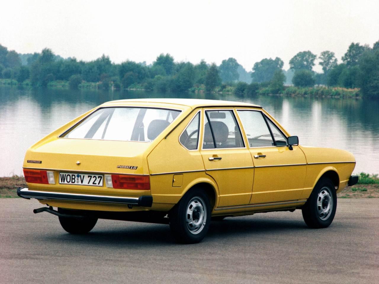 VW Passat - irmão do Audi 80