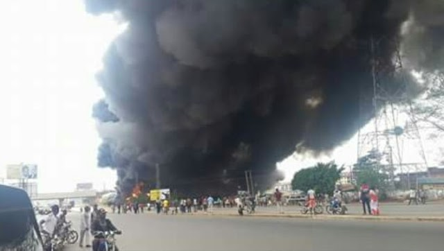 Fire Killed Many In Onitsha: Graphic Photos