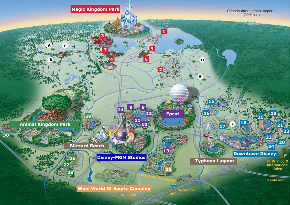 Travelscope travel ideas link Top 10 FREE Activities at Disney W