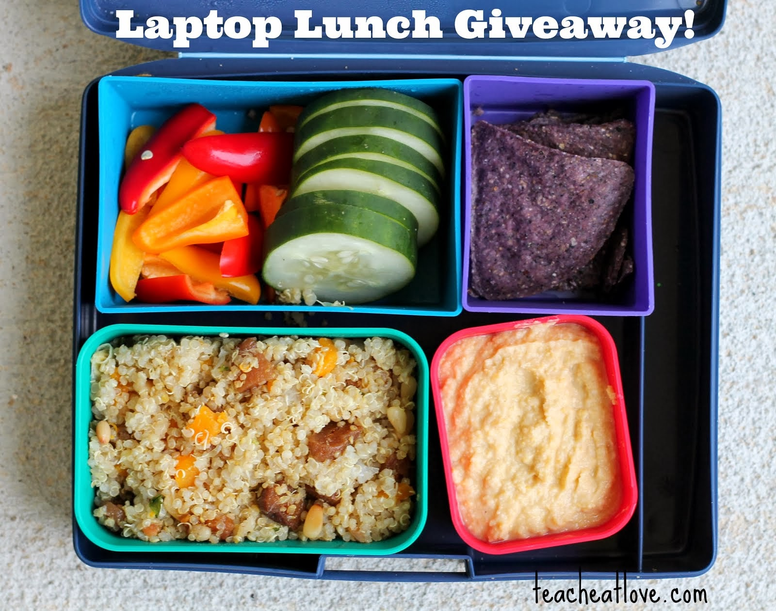 Laptop Lunches Giveaway!