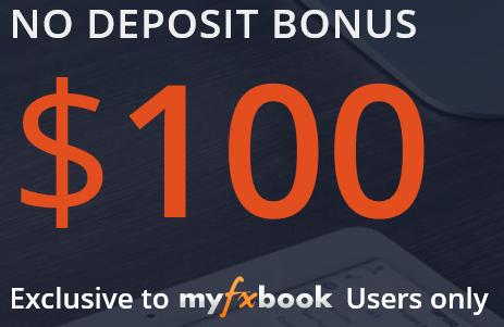 No deposit bonus forex $100