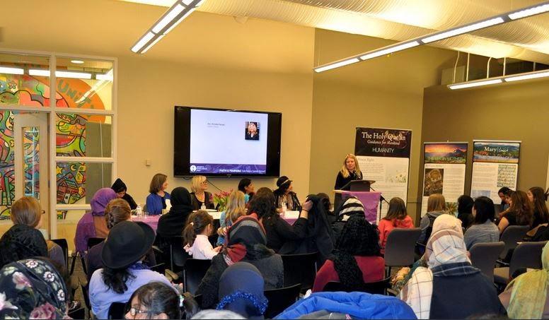 Kanada: Kaum Perempuan Berbagai Keyakinan Dukung Perdamaian Pada Acara Interfaith Bersama Ahmadiyah