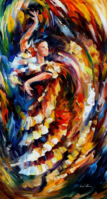 Color pupila leonid afremov - Decorarte pinturas ...