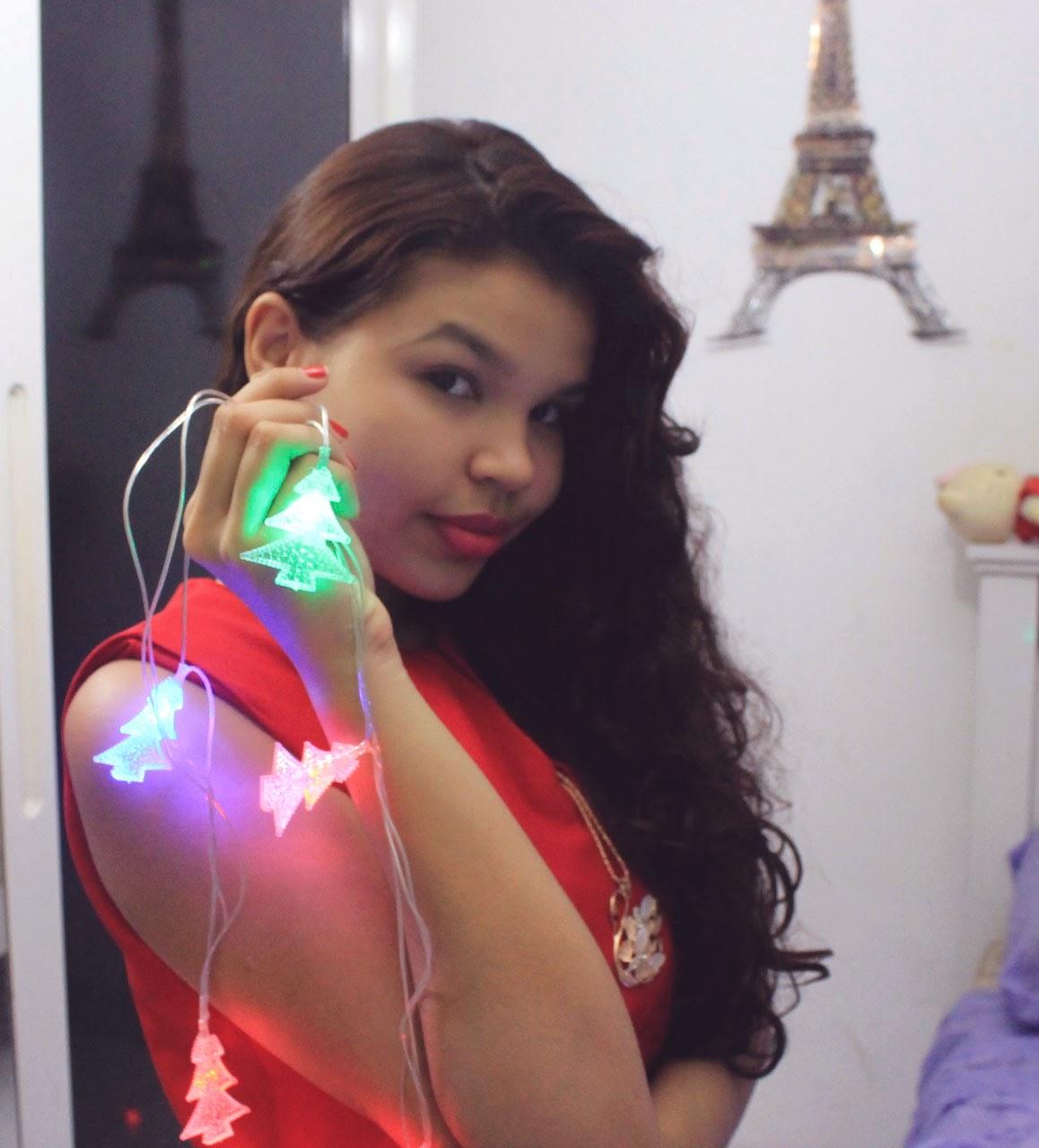 inspiração look de natal, look vermelho e dourado, que roupa usar no natal
