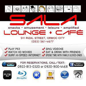 Relax in High Definition at SALA Lounge + Café