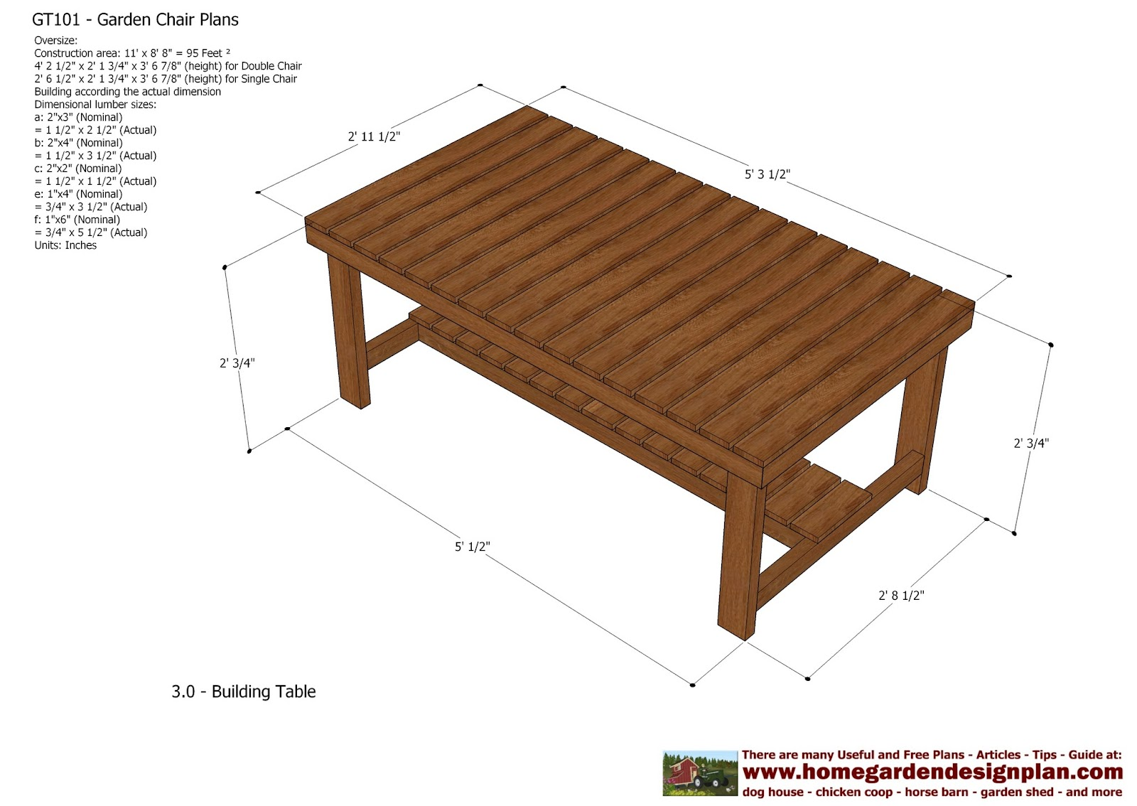 Backyard Table Plans :  Garden Teak Table Plans  Out Door Furniture Plans  Woodworking Plans