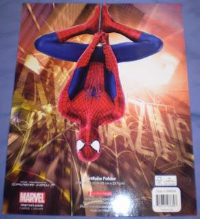 Back cover of Amazing Spider-Man portfolios 2014 edition #1