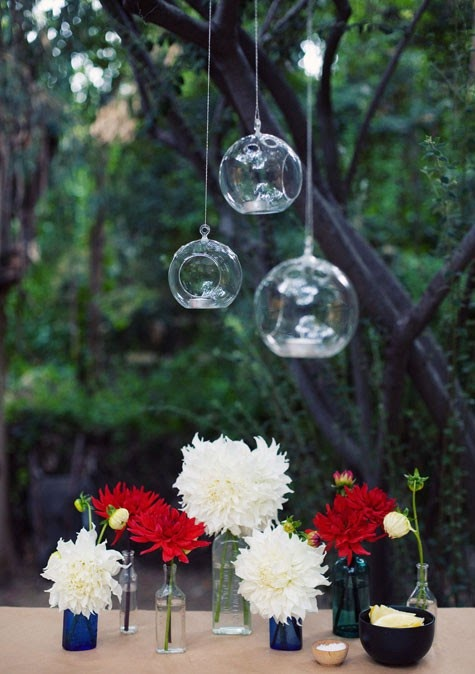 White Wedding Flowers July : Something old new a little