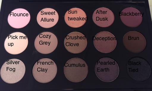 MAC Warm and Cool Eyeshadow Palettes | Pixiwoo.com