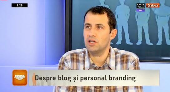 Blogging si branding personal la Digi24 Craiova