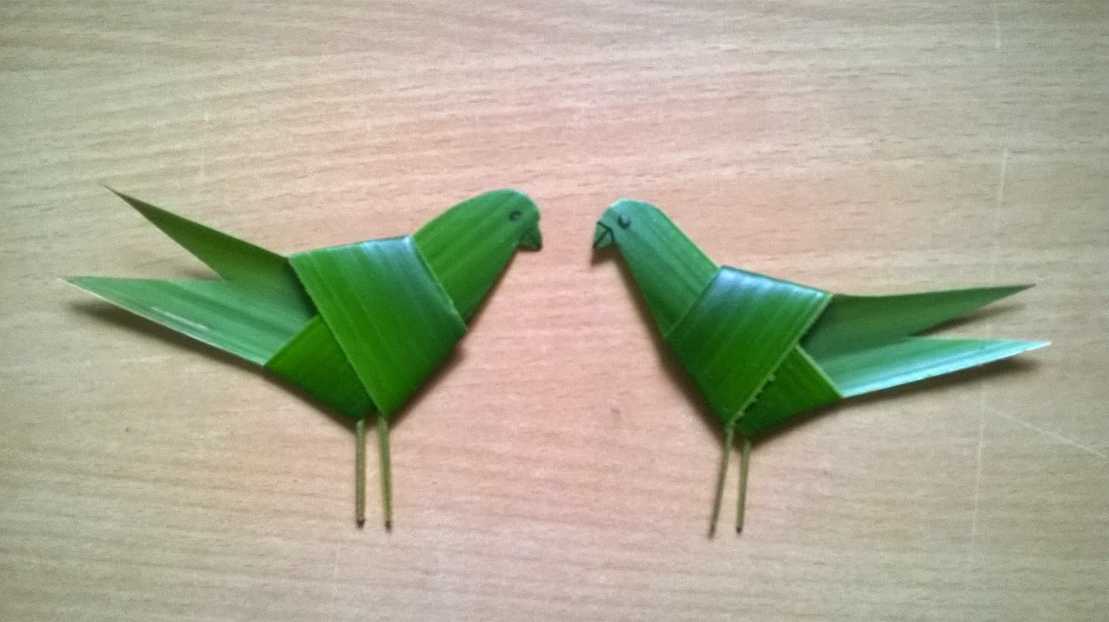 Origami Palm Tree Leaf