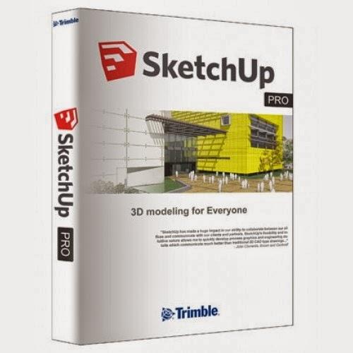 Download Sketch up Pro 2014 Full + Crack