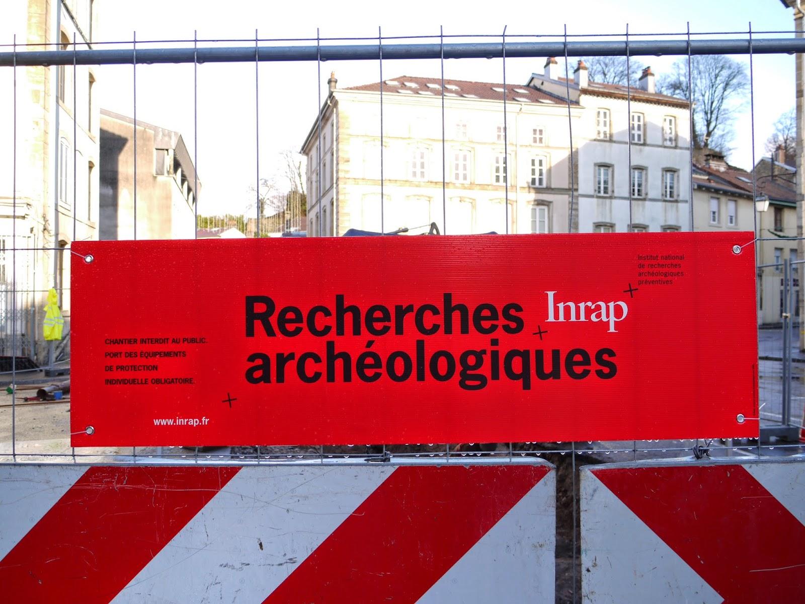 La présence des archéologues est attestée
