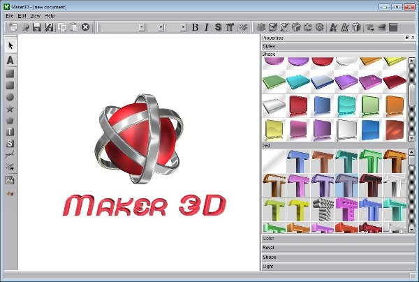 aurora 3d text and logo maker free download full version online