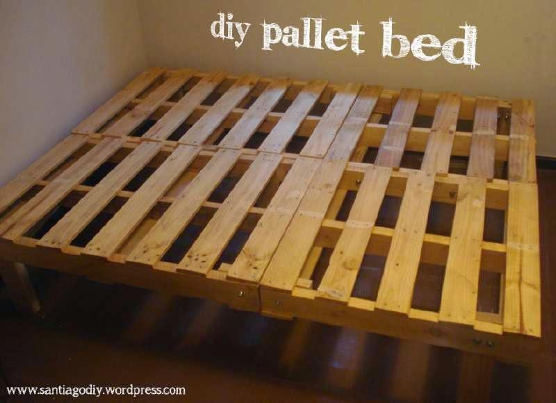 Mueblesdepalets.net: Proceso de construcción de un somier hecho con ...