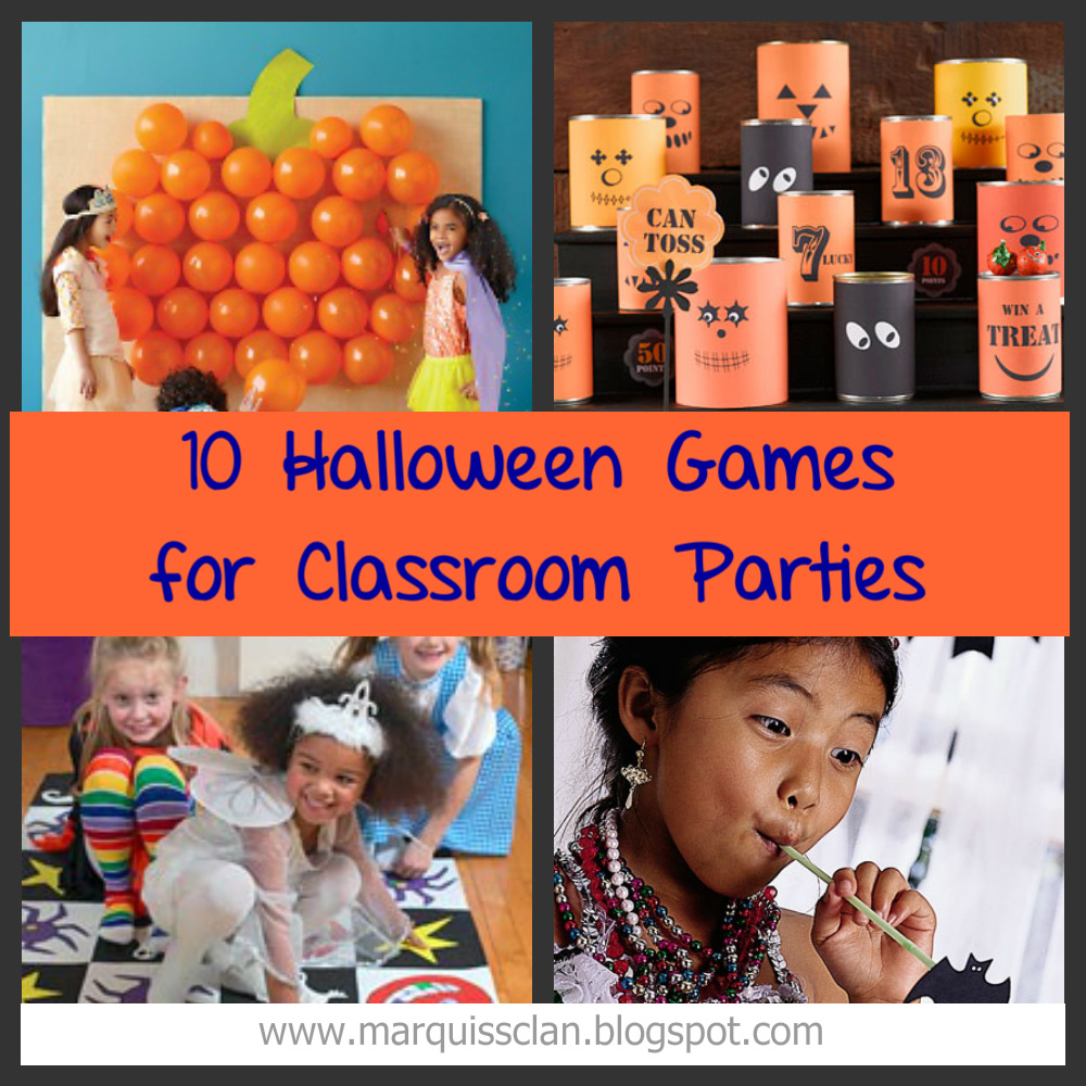 Classroom Birthday Party Games ~ Halloween games for the classroom leighann marquiss