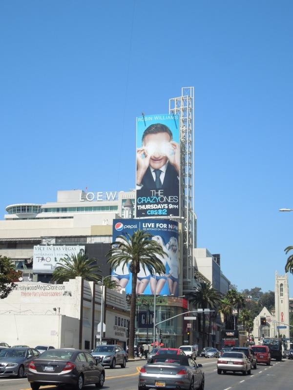 Crazy Ones billboard
