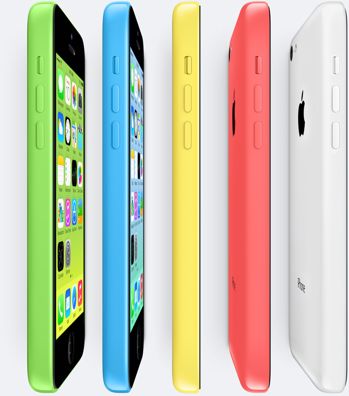 iPhone 5C Colourful