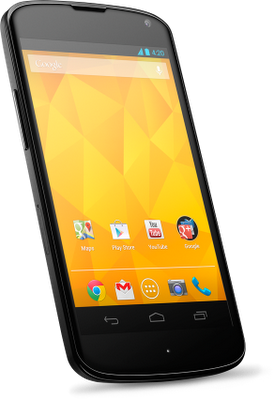Google and LG Announced Nexus 4 Officially