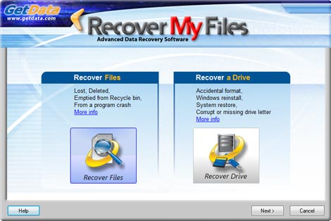 GetData Recover My Files v5.1.0.1824 portable