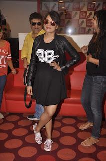 Richa Chadda in Mini Skirt at Masaan Movie Promotion