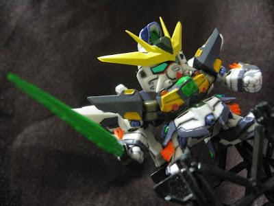 スミ入れ+部分塗装@Next21 / GUNDAM Double X