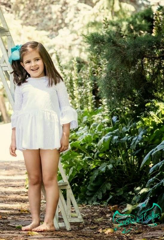 vestido blanco niña - Para Sofia