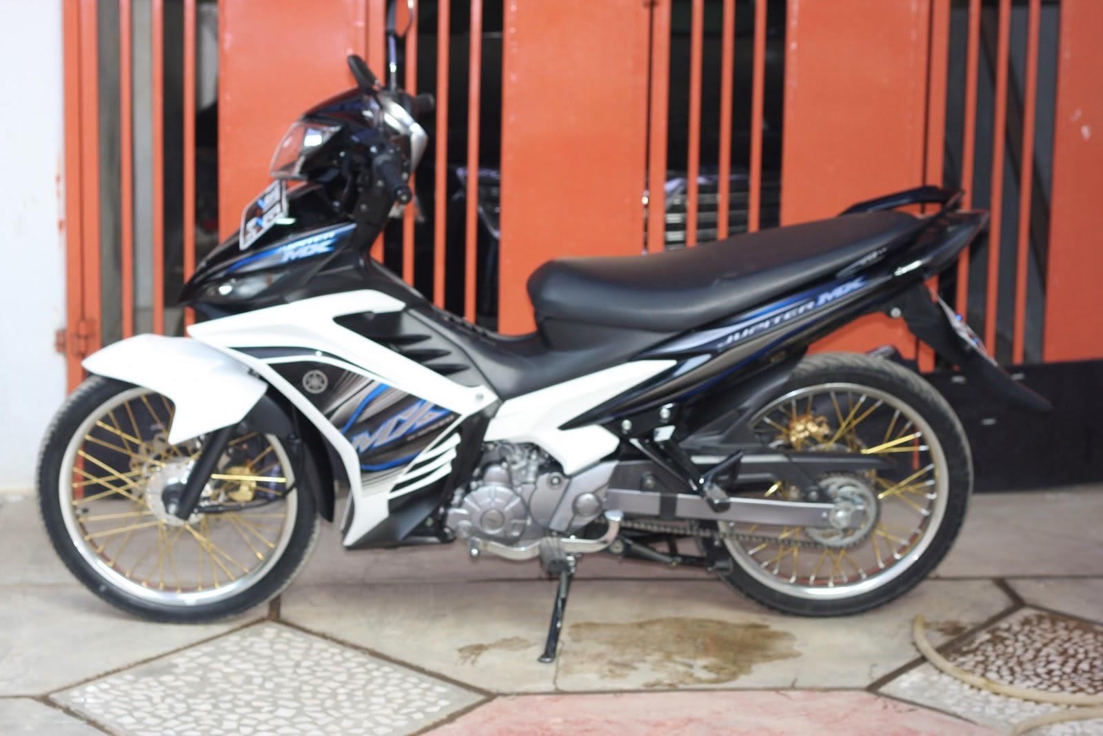 Modifikasi Motor Jupiter MX New 135 CC Terbaru Sukaon