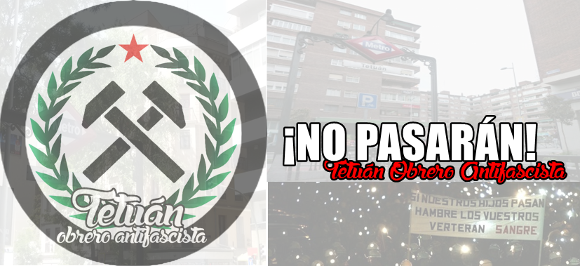 Tetuán Obrero Antifascista.