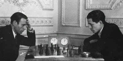 Partida de ajedrez fuentes - Pérez en Madrid en 1944