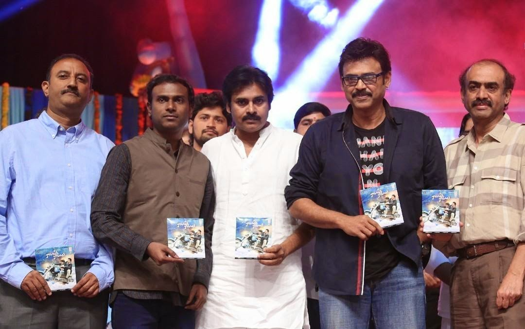 Gopala Gopala movie audio launch photos