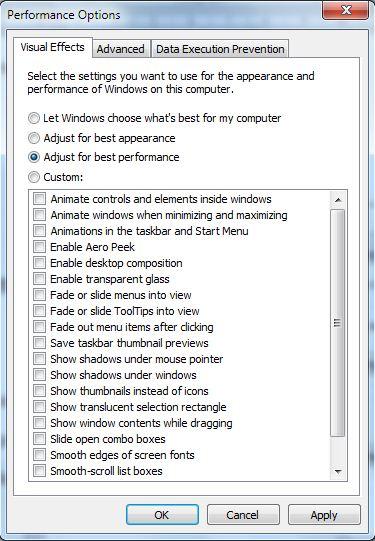 Cara mempercepat kinerja windows 7 e
