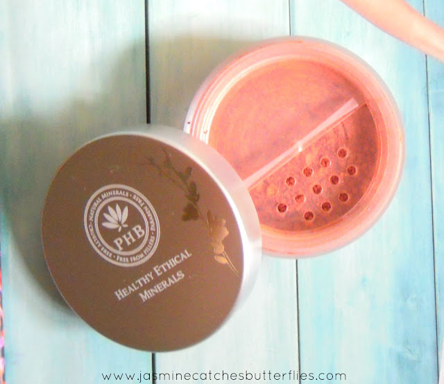 PHB Mineral Blusher in Warm Apricot Review