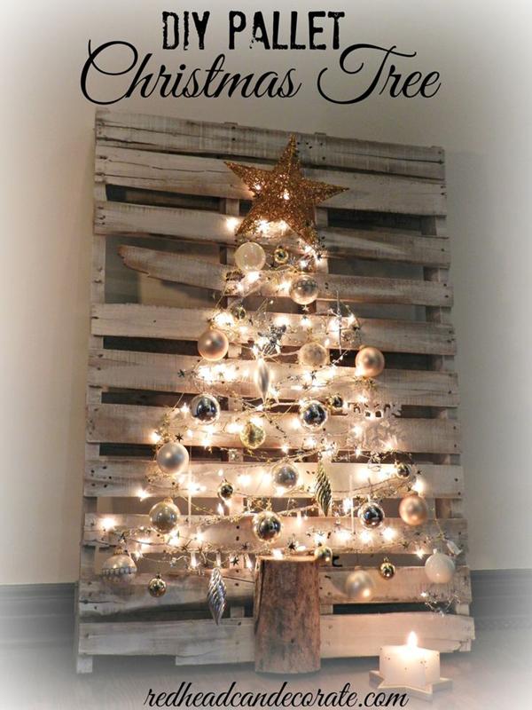 8 ideas originales para crear tu propio rbol de navidad - Ideas originales para navidad ...