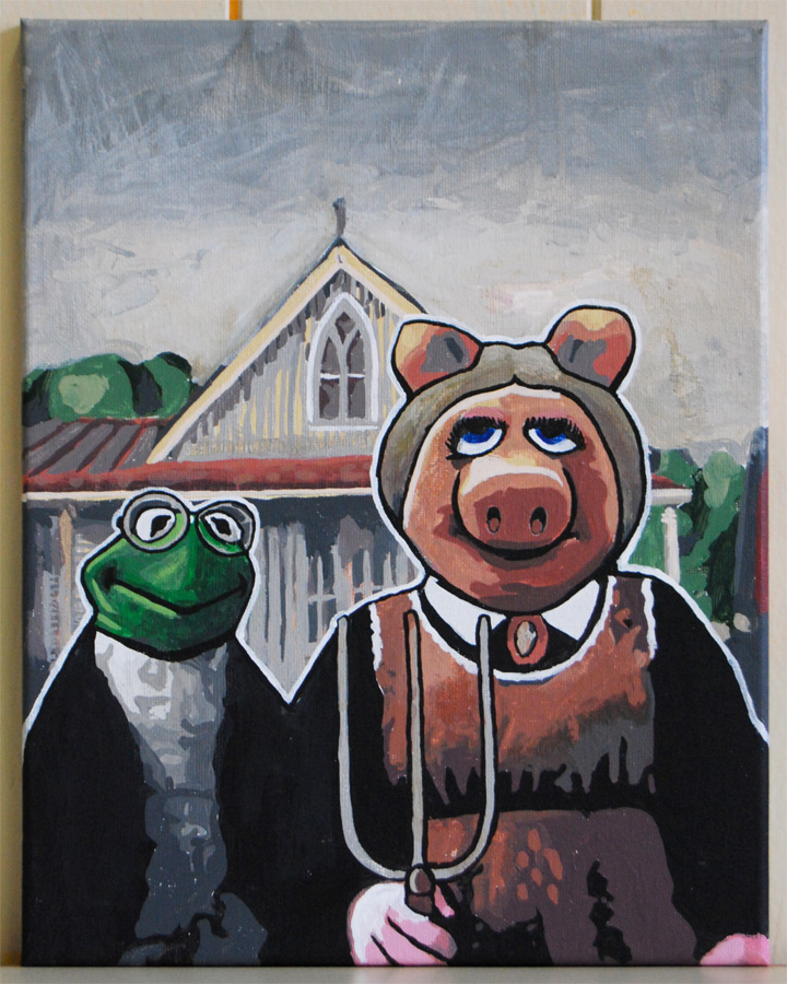 The Muppets American Gothic