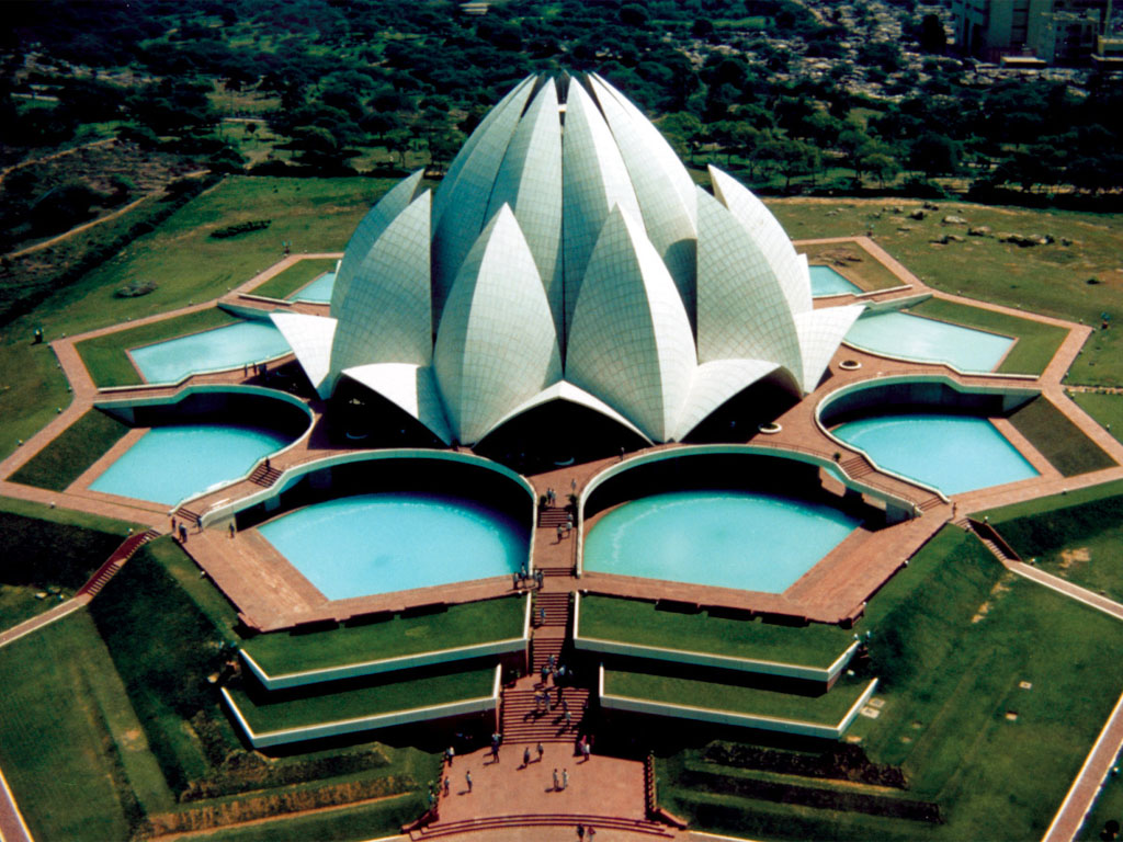 Interesting information about cultures delhi tourist places for The lotus temple