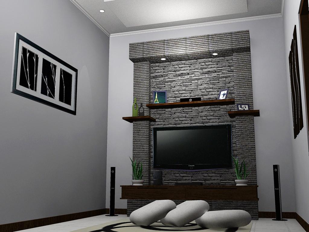 Desain Interior Ruang Keluarga di Taman Laguna Cibubur