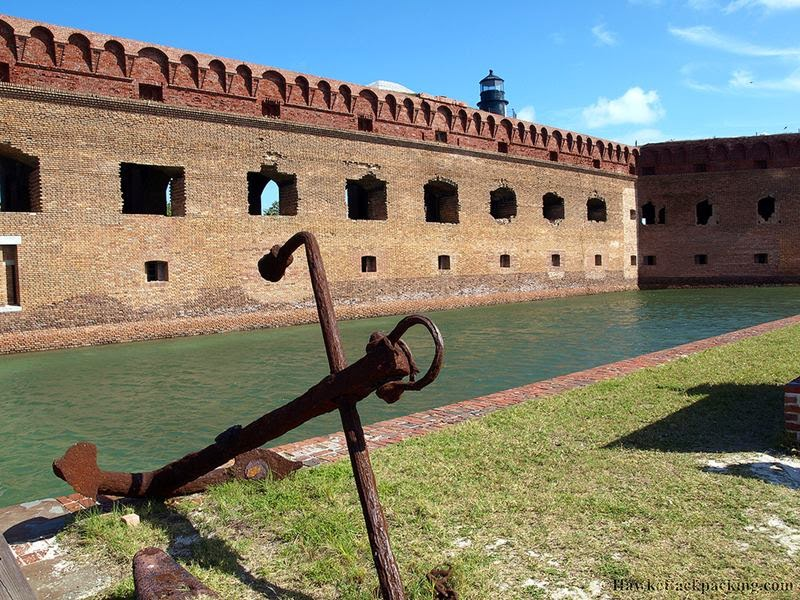 "Fort Jefferson is one of the central features of the seven small ""Dry Tortugas Islands"" in the Gulf of Mexico. Fort Jefferson constructed between 1845 and 1876, Fort Jefferson named after the third President Thomas Jefferson, and Fort Jefferson is a 19th-century third system coastal fortification that occupies the majority of Garden Key in the remote Dry Tortugas National Park in the Florida Keys."