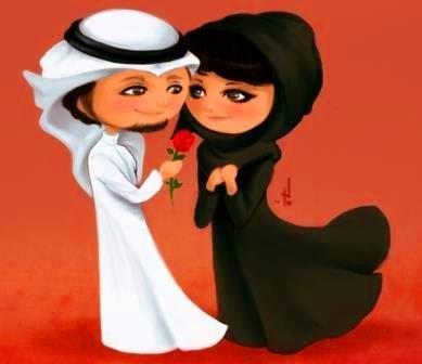فتاة سعودية وحبيبها