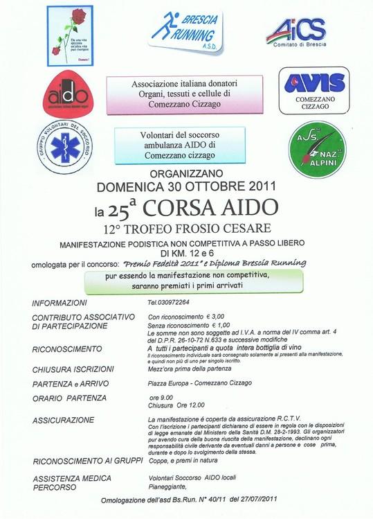 Running nave ottobre 2011 for Arredo bagno carpenedolo