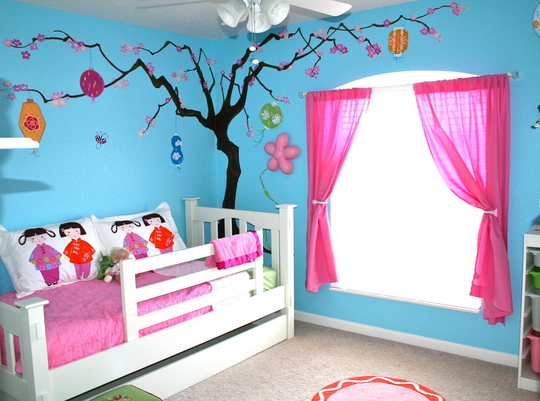 Kids room furniture blog kids rooms painting ideas wallpapers - Childrens bedroom wall painting ideas ...
