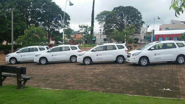 Prefeitura de Roncador adquire quatro novos veículos